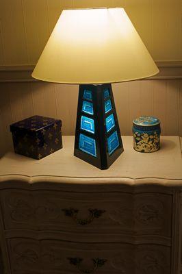 lampe carton. Black Bedroom Furniture Sets. Home Design Ideas